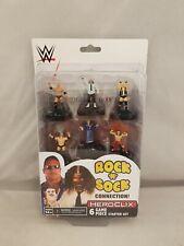 WWE HeroClix The Rock 'n' Sock Connection 2 Player Starter Set 6 figures