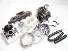Fits ACCORD F22A F23A  2.3L T3 .48 CLOSE PORT MANIFOLD+TURBO CHARGER KIT 300HP