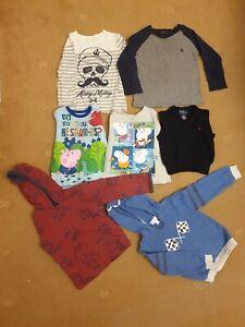 2-3year Old Boy Bundle,Autum/Winter, Gap,Ralph Lauren, Peppa, Marks, White Stuff