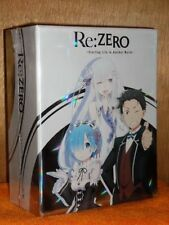 Re: Zero Starting Life In Another World (Blu-ray/DVD, 2018, 4-Disc LIMITED EDTN)