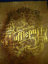 Harry Potter House Crest Hufflepuff Gold Leaf. Harry Potter prop