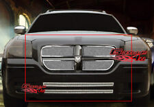 Fits 2005-2007 Dodge Magnum Stainless Steel Mesh Grille Combo