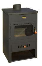 Poêle à bois 4 + 8 Kw arrière chaudière brûleur foyer chauffage au PRITY K1 CP