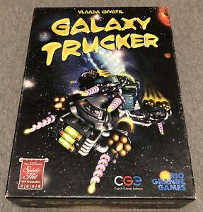 Galaxy Trucker Board Game - Vlaada Chvatil - Rio Grande Games - Rare Game