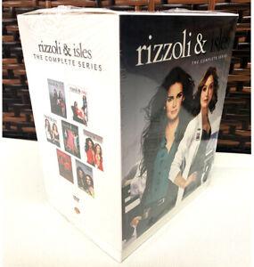 Rizzoli & Isles- The Complete Series Box Set  Seasons 1-7 DVD 24-Discs New!