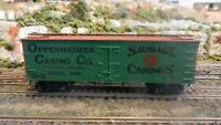 Roundhouse MDC Oppenheimer Sausage Casings Old Time 36' Reefer, Upgraded, Exc