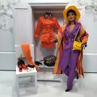 Mixed Lot: 1998 Uptown Chic AA Designer Barbie Doll + Tangerine Twist Fashions
