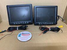 PC/AV/TV/BNC/VGA 8 INCH HIGH RESOLUTION 8 IN TFT-LCD MONITOR SHIPSAMEDAY