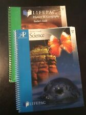 Lifepac Grade 3 Teacher's Guide Science History & Geography Lot