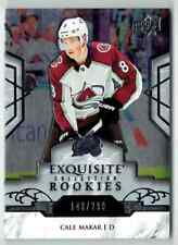 2019-20 EXQUISITE COLLECTION CALE MAKAR ROOKIE 148/299 COLORADO AVALANCHE #R23