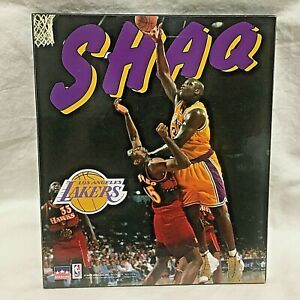 "1997 Starline, SHAQUILLE O'NEAL Wall Plaque, 9"" x 7 3/4"""