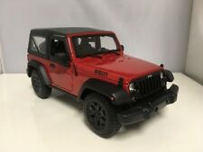 2014 14 Jeep Wrangler Willys 4x4 3.6 VVT Collectible 1/18 Scale Diecast