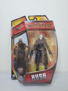 "DC Comics Multiverse Batman Arkham City Hush 3.75"" 4"" Figure Mattel NEW Villain"