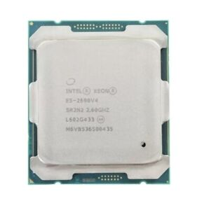 INTEL XEON E5-2690 V4 CPU PROCESSOR 14 CORE 2.60GHZ 35MB L3 CACHE 135W SR2N2 2