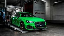 Audi RS4 Green Canvas Wall Art  20x30 INCHES