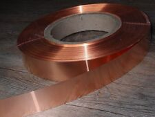 Kupferband, Kupferblech, Kupferfolie  ca. 0,05 mm x 25 mm, 1 Meter