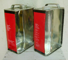 SALE! Handmade INDUSTRIAL STORAGE BOXES made from Metal Cans Lacquer Tins