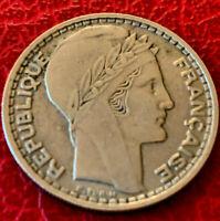 10 Francs Turin 1946 b Rameaux Long