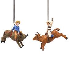 Bull Rider Ornament