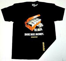 STREETWISE SHOE BOX T-shirt Urban Streetwear Adult Men's Tee Black New