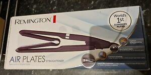 New Remington Air Plates Ceramic Hair Straightener/Styler Black S7414