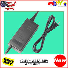Laptop Power Supply AC Adapter Charger For HP Pavilion 15 19.5V 3.33A 4.5*3.0mm