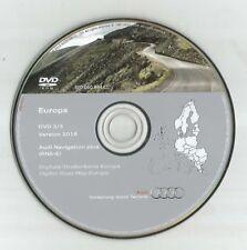 NOT UK !!!------AUDI RNS-E NAVIGATION DISC DVD 3/3 SAT NAV MAP 2016 SWE NOR PL