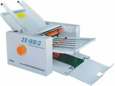 Brand New 310*700 mm Paper 2 Folding Plates Auto Folding Machine ZE-8B/2  E