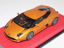 1/43 Looksmart Lamborghini 5-95 by Zagato in Matte Orange on Leather Base LS438A
