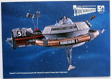 "Thunderbirds 50 Years - 6"" x 4"" POSTCARD SIZED card - THUNDERBIRD FIVE"