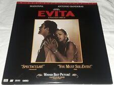 EVITA Laserdisc Madonna Antonio Banderas