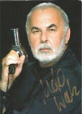 Autogramm AK Udo Walz Friseur der Spitzenklasse Berlin handsigniert Motiv Pistol