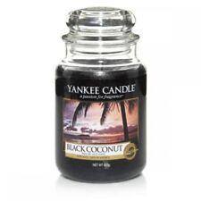 Candele e lumini cero nero Yankee Candle per la decorazione della casa