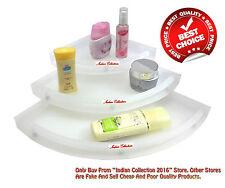 "Bathroom ""UnBreakable"" Corner Shelf (Set of 3)||High Quality product"