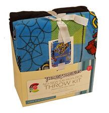 "Transformers Bumblebee & Optimus Prime No-Sew 43"" x 55"" Fleece Blanket Throw Kit"