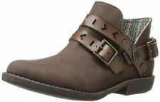 Blowfish Women's Anotole Ankle Bootie Boot Coffee Old Mexico size 7 1/2