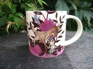 "Cute Churchill Fine China Disney Bambi Fawn Thumper Rabbit Mug "" True Romance """