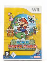 Super Paper Mario (Nintendo Wii/Wii U) Spiel in OVP, PAL, CIB, TOP, SEHR GUT