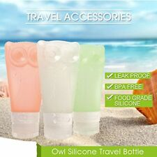 on-Trip Silicone Travel Bottles Set, Refillable Cosmetic Containers, 4 piece set