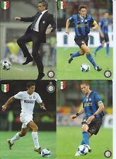 INTER FC  SERIE COMPLETA 29 CARTOLINE 2008- 2009 PROMOCARD