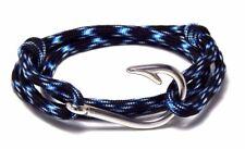 Nautical Fish Hook Bracelet Lightning Men Women Fashion Vintage  Adjustable