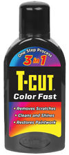 T-Cut Black Scratch Remover Color Fast Paint Colour Restorer Car Polish 500ml