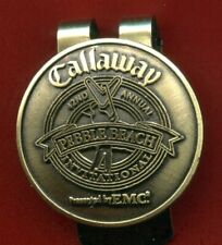 New - Official - Callaway 42nd Annual Invitational - Pebble Beach - Money Clip