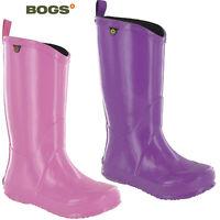 Bogs Childrens Wellingtons Waterproof Kids Lightweight Summer Soft Pull Up Boots