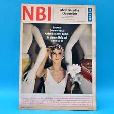 DDR NBI 15/1965 Diskusfisch Nicaragua Bademode Raumfahrt-Medizin Magdeburg Q