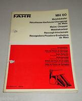 Teilektalog/Repuestos Piezas List Fahr Meishäcksler MH 60 Soporte 1975