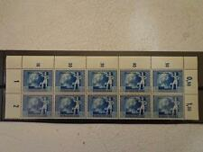 Germany Wwii 3rd Reich 1940 Strip Mnh Overprinted 1942