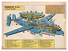 1979 DOCUMENT (ref SUP J 011) AVIATION : AVION RADAR  HAWKEYE E-2c  1page