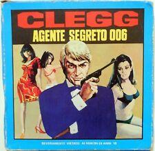 VINTAGE SUPER 8 NASTRO PELLICOLA CLEGG AGENTE SEGRETO 006 1 EPISODIO SHONTEFF
