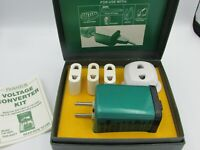 Vintage Franzus Foreign Electricity Converter Kit Model CA-1600 - FREE SHIPPING